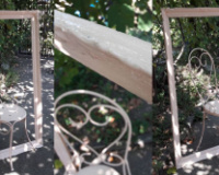 scaun inramat