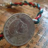 Salba Mariei - Brățara Crăciunului - piele & argint
